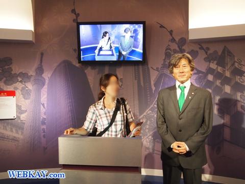 小泉純一郎 マダム・タッソー館 Madame Tussauds Japan