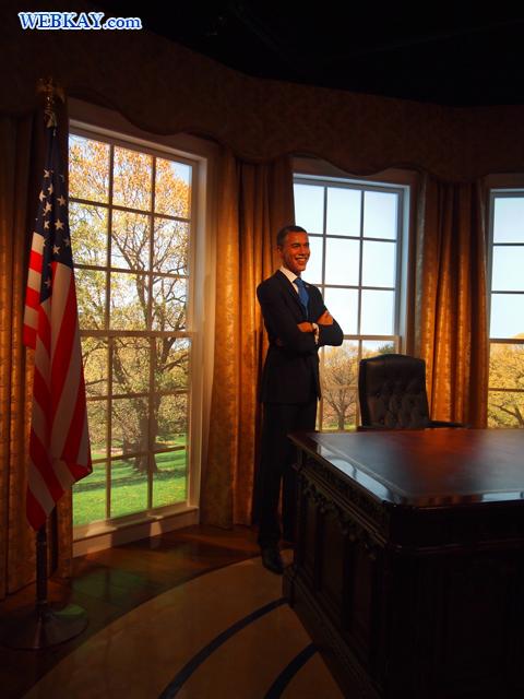 バラク・フセイン・オバマ・ジュニア Barack Hussein Obama マダム・タッソー館 Madame Tussauds Japan