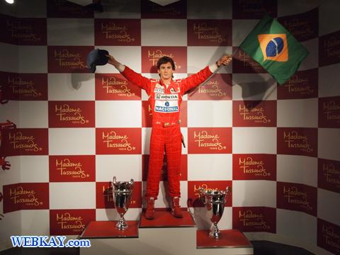 アイルトン・セナ Ayrton Senna da Silva マダム・タッソー館 Madame Tussauds Japan