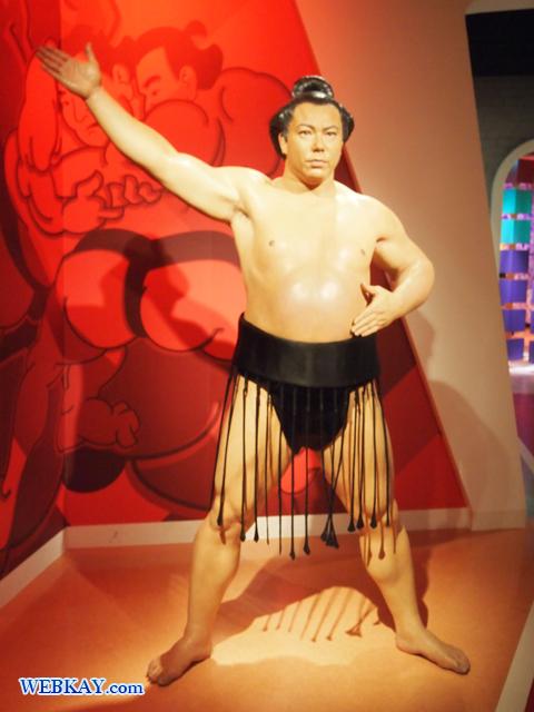 千代の富士 貢 第58代横綱 マダム・タッソー館 Madame Tussauds Japan