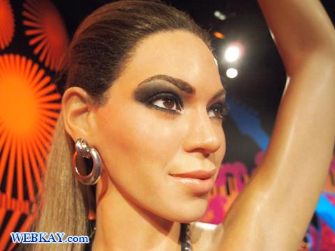 ビヨンセ Beyonce Beyonce Giselle Knowles マダム・タッソー館 Madame Tussauds Japan