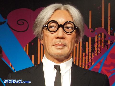 坂本龍一 マダム・タッソー館 Madame Tussauds Japan