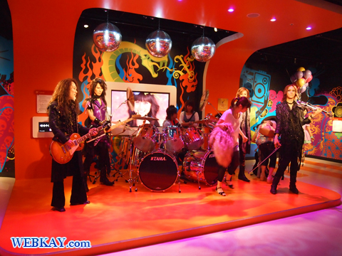 X JAPAN マダム・タッソー館 Madame Tussauds Japan