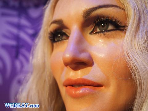 マドンナ Madonna Louise Ciccone マダム・タッソー館 Madame Tussauds Japan