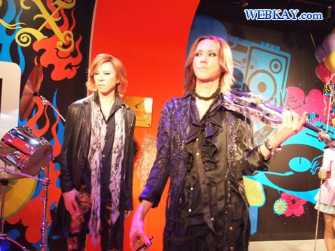 X JAPAN マダム・タッソー館 Madame Tussauds Japan