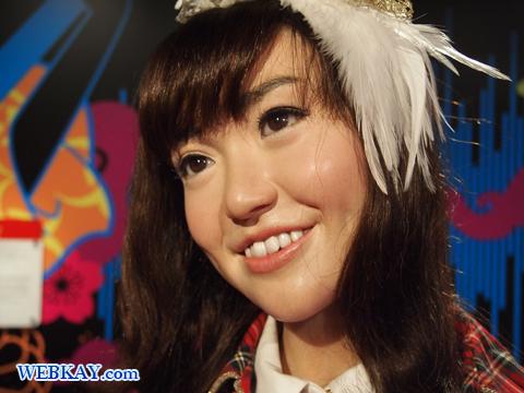 AKB48 大島優子 マダム・タッソー館 Madame Tussauds Japan