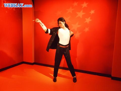 マイケル・ジャクソン Michael Joseph Jackson マダム・タッソー館 Madame Tussauds Japan