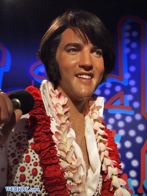 エルヴィス・プレスリー Elvis Presley マダム・タッソー館 Madame Tussauds Japan