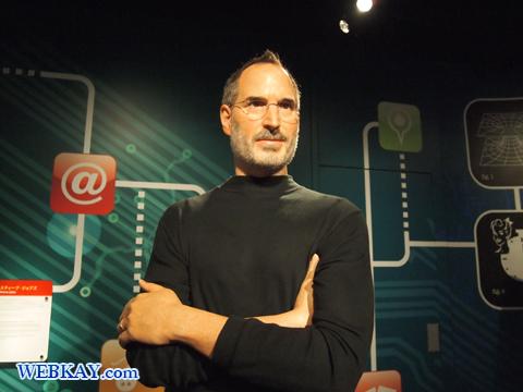 スティーブ・ジョブズ Steven Paul Jobs マダム・タッソー館 Madame Tussauds Japan
