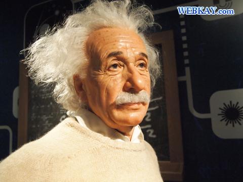 アルベルト・アインシュタイン Albert Einstein マダム・タッソー館 Madame Tussauds Japan
