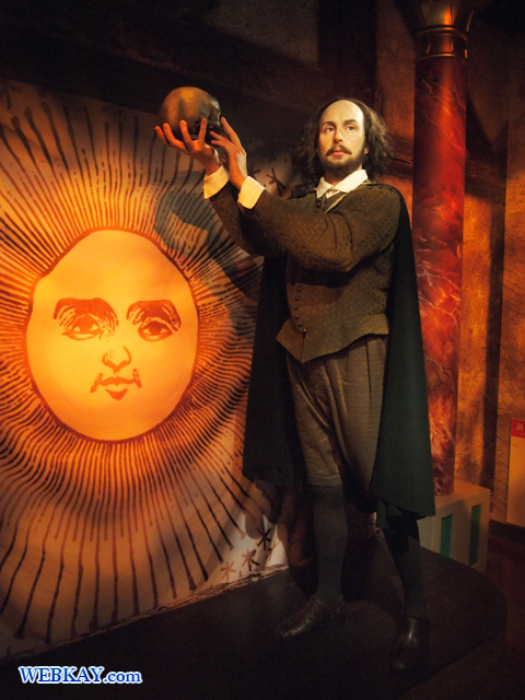 ウィリアム・シェイクスピア William Shakespeare マダム・タッソー館 Madame Tussauds Japan