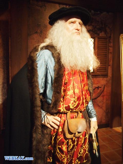 レオナルド・ダ・ヴィンチ Leonardo da Vinci マダム・タッソー館 Madame Tussauds Japan