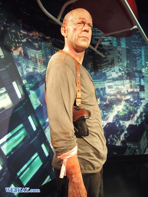 ブルース・ウィリス Walter Bruce Willis マダム・タッソー館 Madame Tussauds Japan