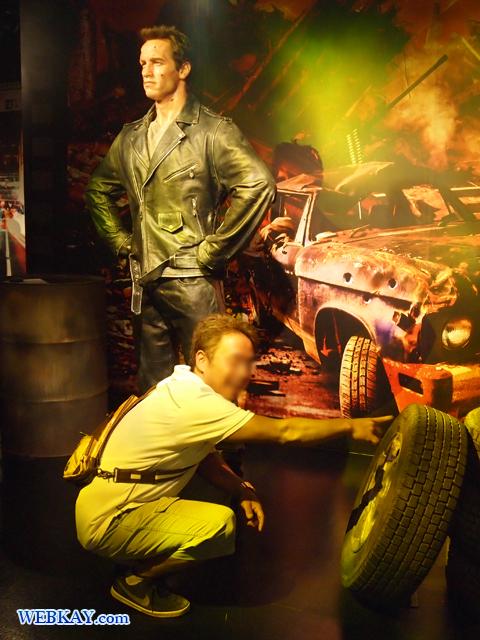 アーノルド・シュワルツェネッガー Arnold Schwarzenegger マダム・タッソー館 Madame Tussauds Japan
