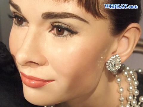 オードリー・ヘプバーン Audrey Hepburn マダム・タッソー館 Madame Tussauds Japan
