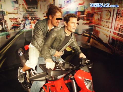 トム・クルーズ Tom Cruise マダム・タッソー館 Madame Tussauds Japan
