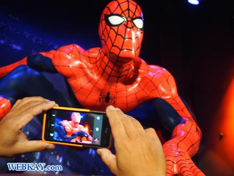 スパイダーマン Spider-Man マダム・タッソー館 Madame Tussauds Japan
