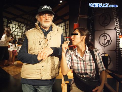 スティーヴン・スピルバーグ Steven Spielberg マダム・タッソー館 Madame Tussauds Japan