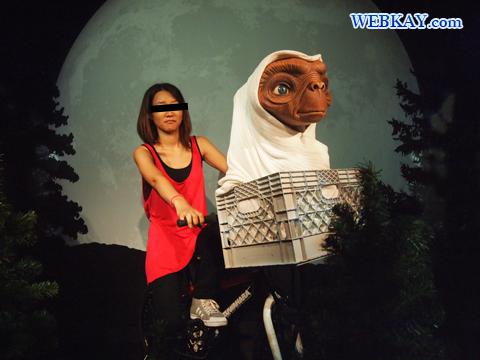 ET スティーヴン・スピルバーグ Steven Spielberg マダム・タッソー館 Madame Tussauds Japan