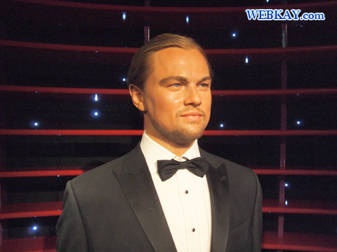 レオナルド・ディカプリオ Leonardo DiCaprio マダム・タッソー館 Madame Tussauds Japan