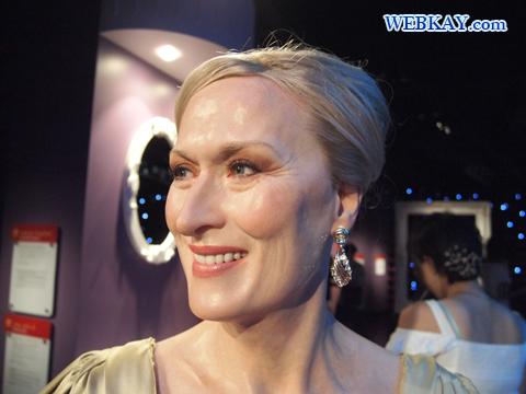 メリル・ストリープ Meryl Streep マダム・タッソー館 Madame Tussauds Japan