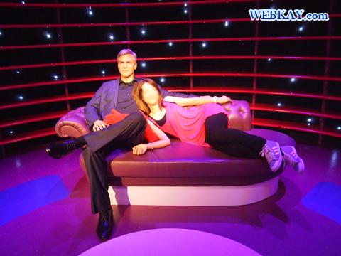ジョージ・クルーニー George Clooney マダム・タッソー館 Madame Tussauds Japan