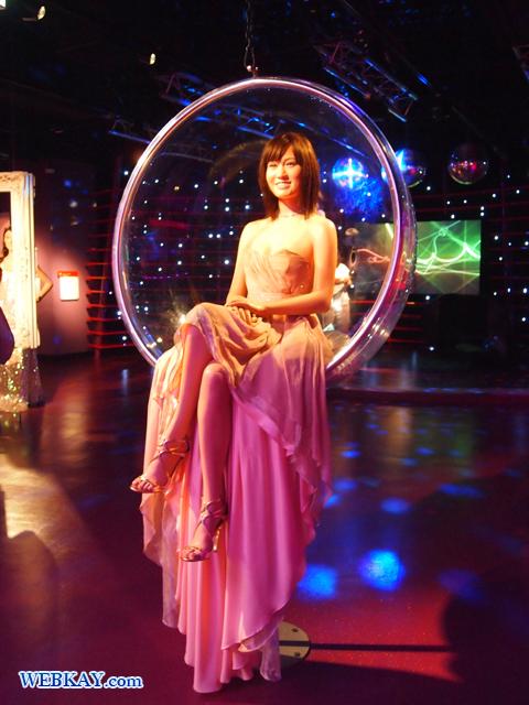 前田敦子 元AKB マダム・タッソー館 Madame Tussauds Japan