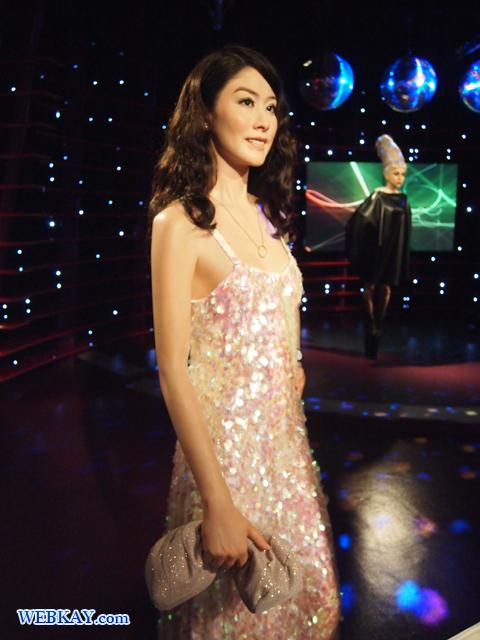 ケリー・チャン Kelly Chen 陳 慧琳 香港 マダム・タッソー館 Madame Tussauds Japan