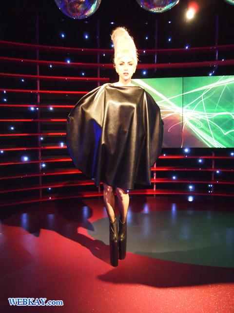 レディー・ガガ Lady GaGa マダム・タッソー館 Madame Tussauds Japan