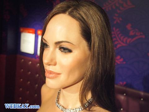 アンジェリーナ・ジョリー Angelina Jolie マダム・タッソー館 Madame Tussauds Japan