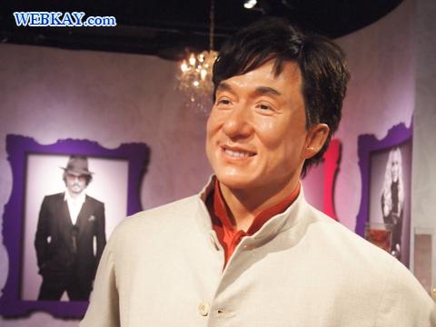 ジャッキー・チェン Jackie Chan 成龍 香港 マダム・タッソー館 Madame Tussauds Japan