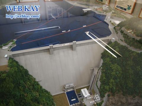奥多摩湖 小河内ダム 東京都 日本最大級水道専用貯水池