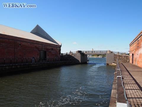 函館 金森赤レンガ倉庫 Kanemori Red Brick Warehouse 運河 Canal