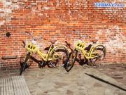 函館 金森赤レンガ倉庫 Kanemori Red Brick Warehouse レンタサイクル 自転車