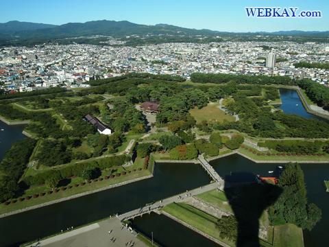 五稜郭(ごりょうかく) 函館観光 北海道