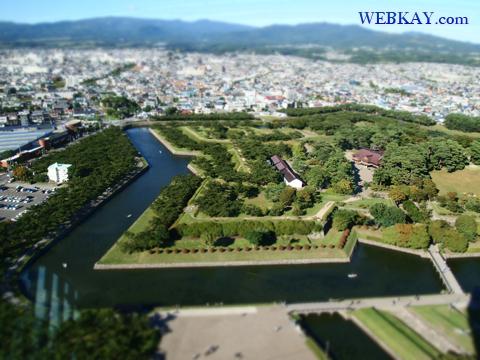 ジオラマ写真 撮影 五稜郭(ごりょうかく) 函館観光 北海道