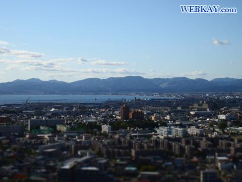 ジオラマ写真 撮影 函館湾 五稜郭タワー 函館観光 北海道