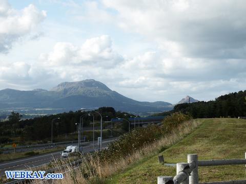 有珠山SA(下り線) うすざん 北海道