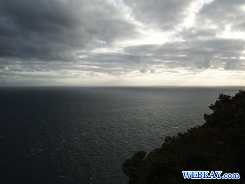 地球岬 チケップ岬 チキウ岬 地球が丸い