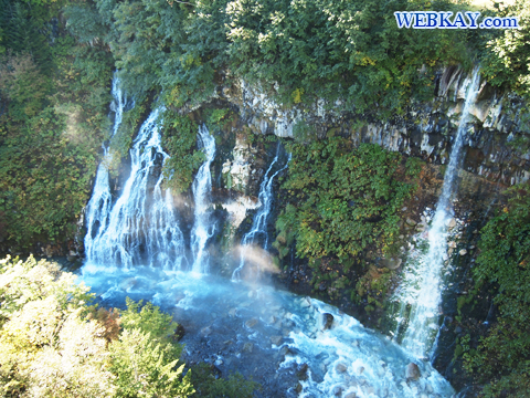 美瑛 白ひげの滝 しらひげの滝 青い滝 観光スポット ぶらり旅 ドライブ