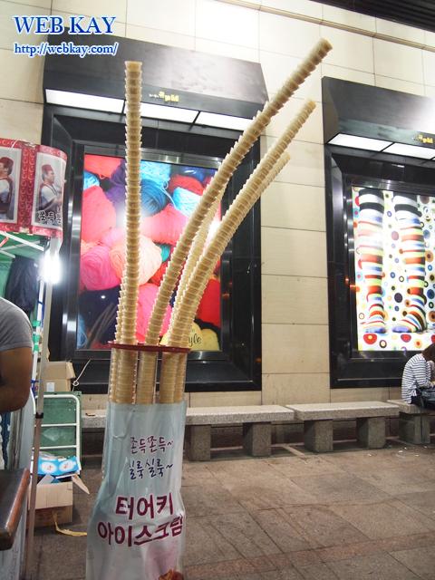 韓国 東大門 トルコアイスクリーム