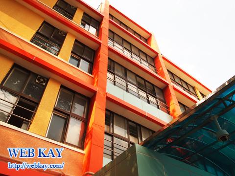 韓国ソウル市内の小学校