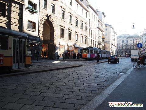 トラム,ミラノ,散策,MILANO,町並,雰囲気,イタリア旅行,観光スポット