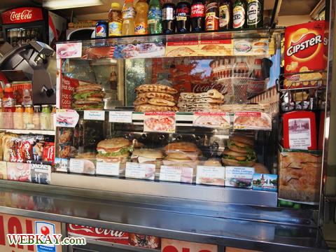 スフォルツェスコ城 屋台 カルツォーネ プロシュート 食べログ ぶらり旅 イタリア旅行