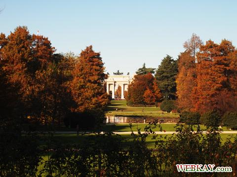 凱旋門 平和の門(Arco della Pace) ミラノ MILANO 散策 イタリア旅行 観光スポット