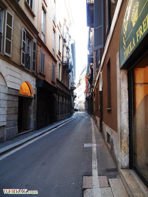 ミラノ,散策,MILANO,町並,雰囲気,イタリア旅行,観光スポット