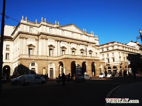 スカラ座 Teatro alla Scala ミラノ MILANO 散策 イタリア旅行 観光スポット