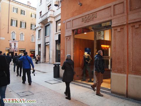 Via Mazzini Verona ヴェローナ 散策 イタリア ぶらり旅 レビュー 口コミ