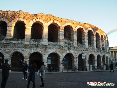 Arena アレーナ Verona ヴェローナ 散策 イタリア ぶらり旅 レビュー