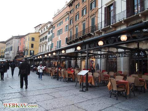 レストラン カフェ Verona ヴェローナ 散策 イタリア ぶらり旅 レビュー